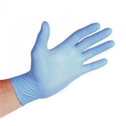 Нитрилови ръкавици без талк - сини 100бр.