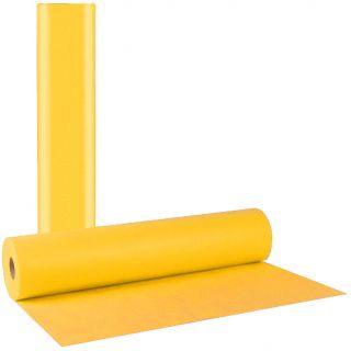 Еднократен жълт TNT чаршаф 57cm./100 метра - 35гр/м2